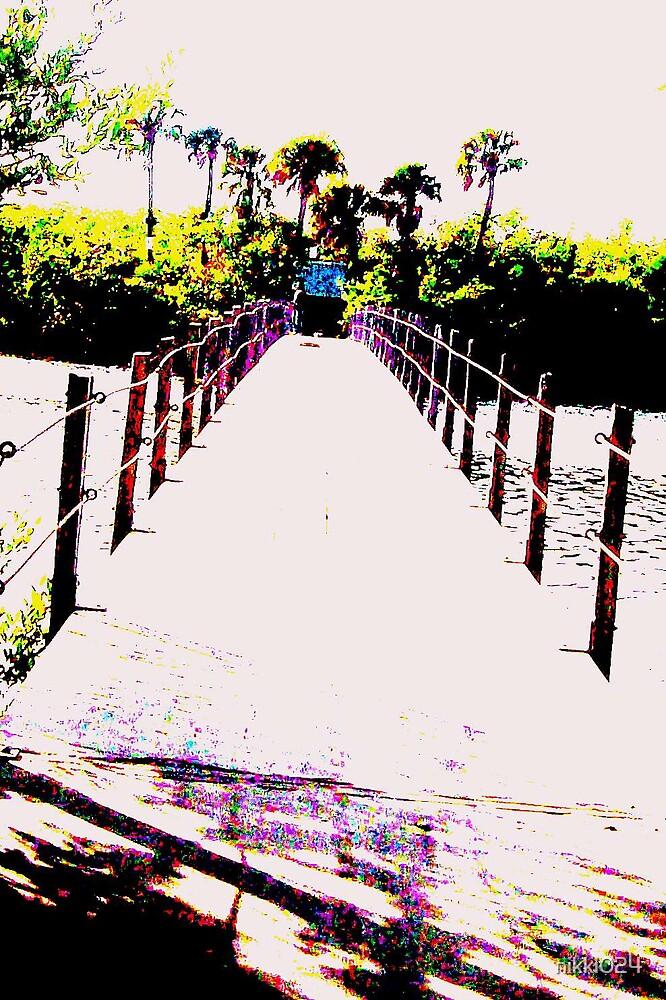 OVER THE BRIDGE by nikki024