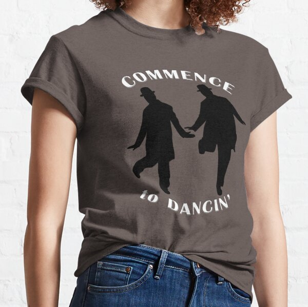 Laurel and Hardy - Commence to Dancing Classic T-Shirt