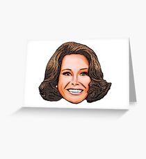 Mary Tyler Moore Greeting Card
