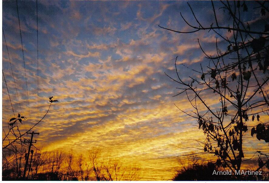 Beautiful Sun Set by Arnold  MArtinez
