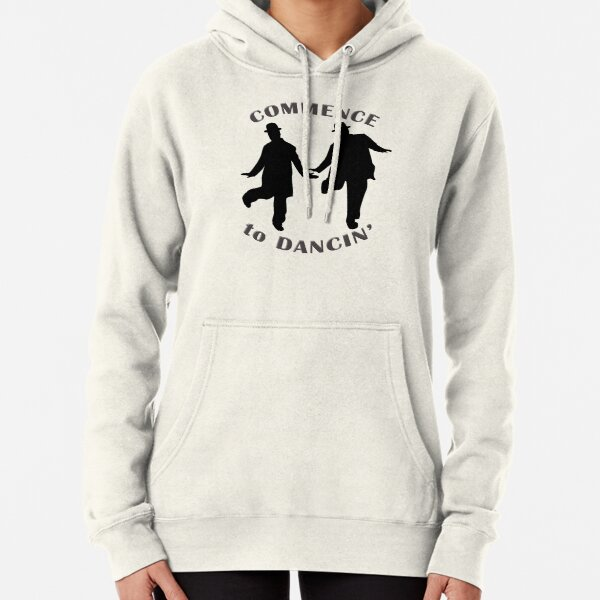 Laurel and Hardy - Commence to Dancing (light) Pullover Hoodie