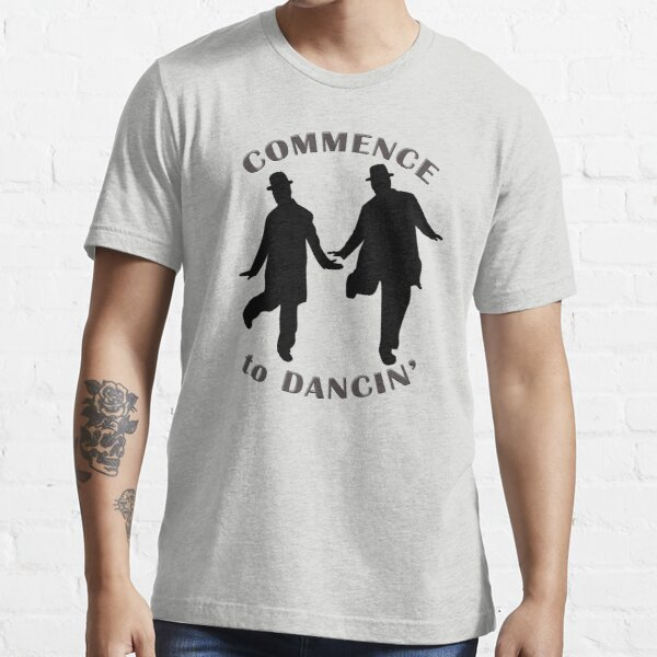 Laurel and Hardy - Commence to Dancing (light) Essential T-Shirt