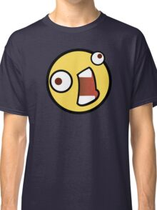 Funny Face Emoticon Classic T-Shirt