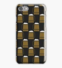 beer mug pattern iPhone Case/Skin