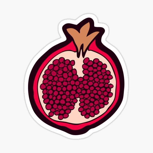 Pomegranate Pattern Sticker