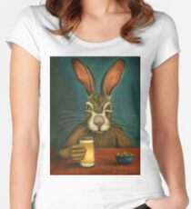 Bunny Hops Women's Fitted Scoop T-Shirt