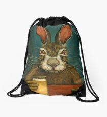 Bunny Hops Drawstring Bag