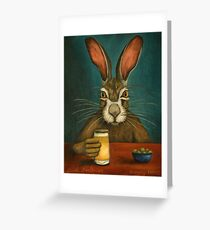 Bunny Hops Greeting Card