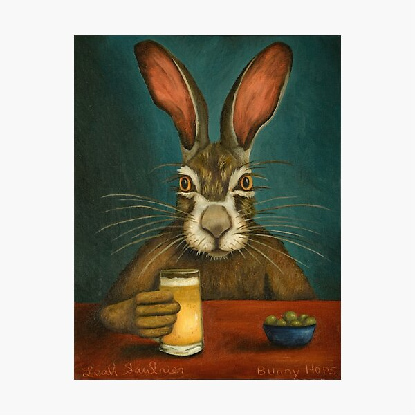 Bunny Hops Photographic Print