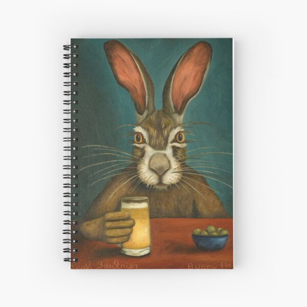 Bunny Hops Spiral Notebook