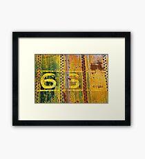 66 Framed Print