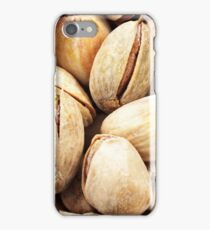A close up image of pistachio nuts iPhone Case/Skin