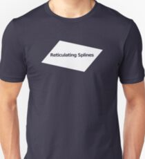 Reticulating Splines Unisex T-Shirt