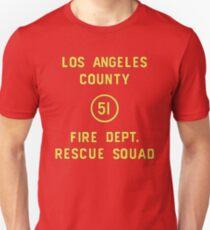 Emergency Squad 51 Door Unisex T-Shirt