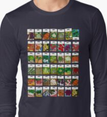 Vegetable seeds pattern T-Shirt