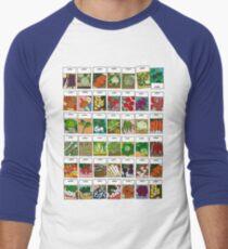 Vegetable seeds pattern T-Shirt