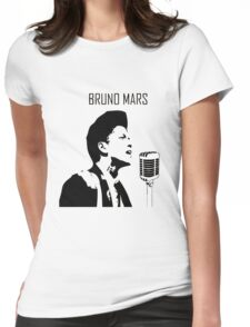 Bruno Mars Womens Fitted T-Shirt