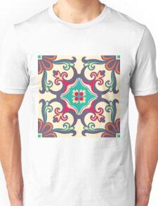 Seamless Colourful Ornament Tiles Unisex T-Shirt