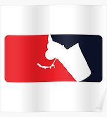 Major League Beer Pong Poster
