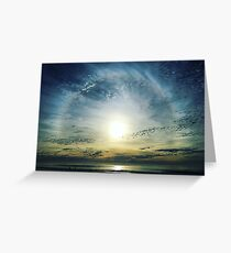 The Lord is over the waters... Greeting Card