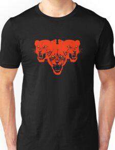 Three-headed Lion Attack Unisex T-Shirt