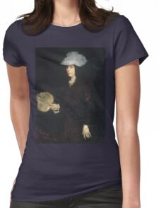Frank Duveneck - Lady With Fan Womens Fitted T-Shirt