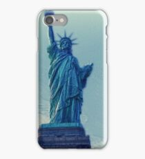 Liberty Statue Vintage iPhone Case/Skin