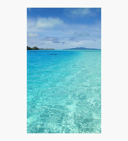 South Pacific Paradise  Photographic Print