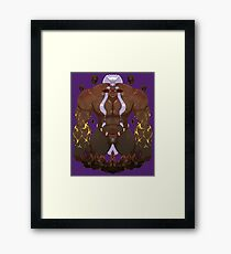Lord of Tremors Framed Print