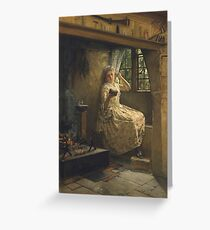 Frank Millet - A Cosey Corner Greeting Card