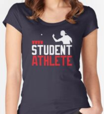 Beer Pong Student Athlete Women's Fitted Scoop T-Shirt
