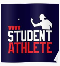 Beer Pong Student Athlete Poster