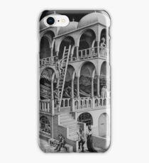 MC Escher construction iPhone Case/Skin