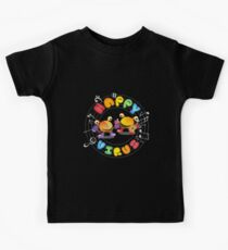 Happy Virus - Large Logo Kids Clothes