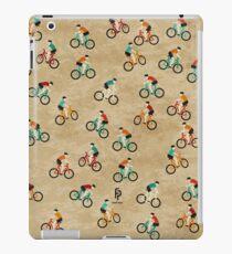 Mountain Biking at Hadleigh Castle Country Park iPad Case/Skin