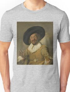 Frans Hals - A Militiaman Holding A Berkemeyer, Known As The merry Drinker , 1630 Unisex T-Shirt