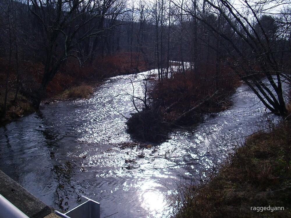 flowing peacefully by raggedyann