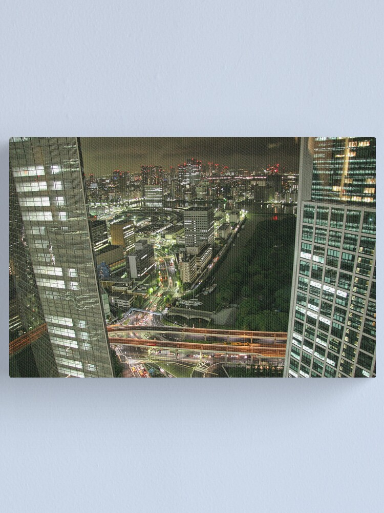 Alternate view of Tokyo - View from 32 Canvas Print