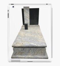 marble gravestone iPad Case/Skin