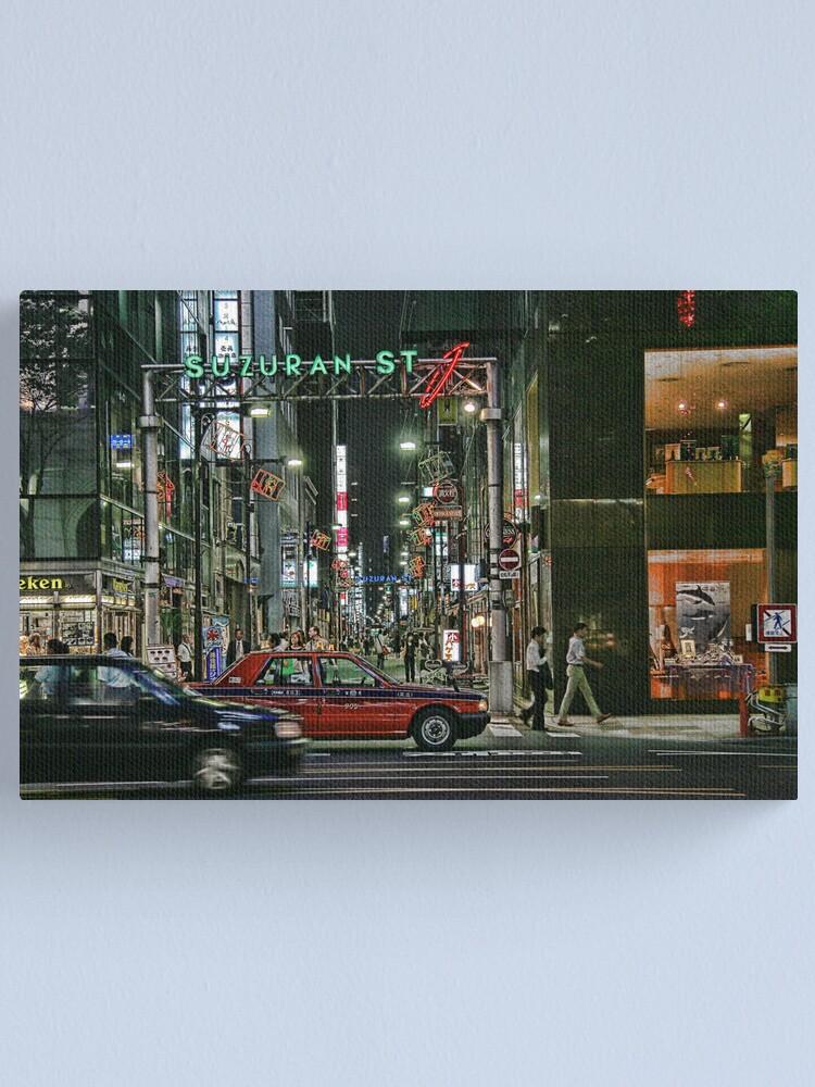 Alternate view of Tokyo  - Suzuran Street Canvas Print