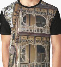 Gingerbread House, Savannah Graphic T-Shirt
