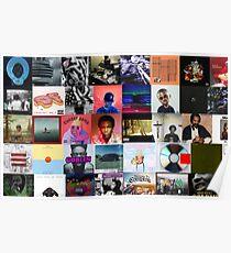 Rap Album covers  Poster
