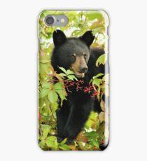 Baby Black Bear. iPhone Case/Skin