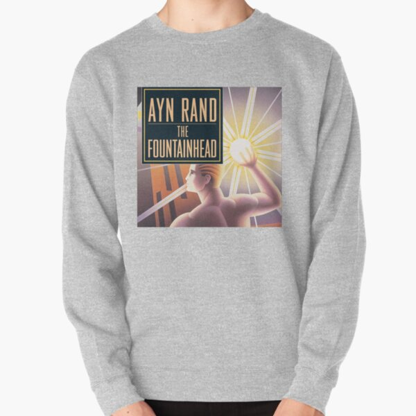 The Fountainhead by Ayn Rand - Cover Pullover Sweatshirt
