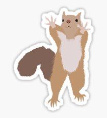 Baesic I Can't Reach Squirrel Sticker