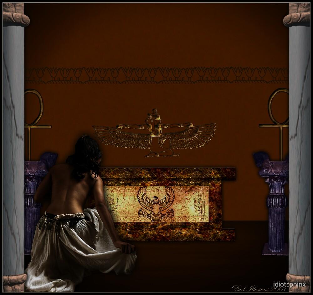 Priestess Of Isis by idiotsphinx