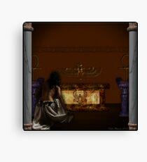 Priestess Of Isis Canvas Print