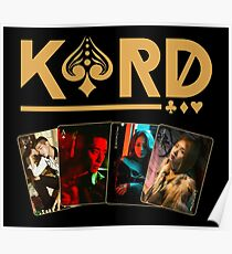 K.A.R.D cards Poster