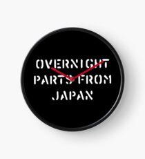 Reloj Durante la noche partes de Japón