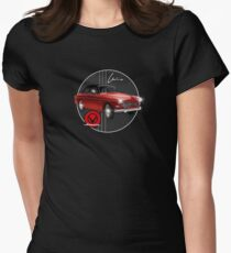 Classic Volvo Amazon by MotorManiac Womens Fitted T-Shirt
